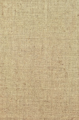 Natural textured vertical grunge burlap sackcloth hessian sack