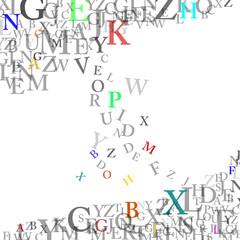 Buchstaben Collage  #150205-07