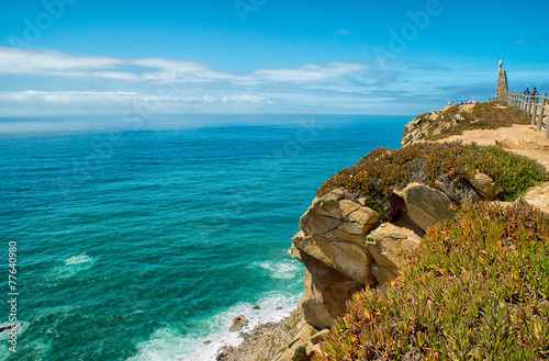 Cabo da Roca (Cape Roca), Portugal - 77640980