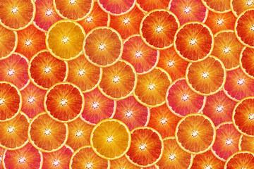 Orange slices backgound