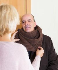 Portrait of senior spouses
