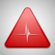 Zdjęcia na płótnie, fototapety, obrazy : Heart danger