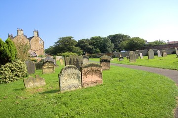 Old Scottish cemetary