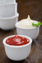 Ketchup und Mayonnaise