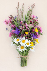 Summer Wild Flower Posy