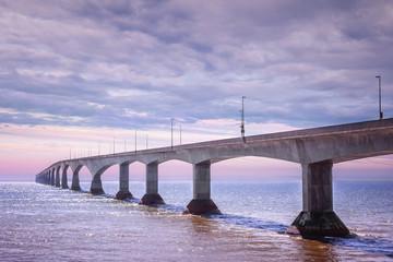 Confederation Bridge sunset, PEI Canada