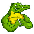 Crocodile Strong Mascot - 77652532