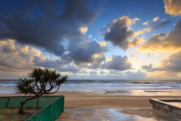 Australian foreshore early morning