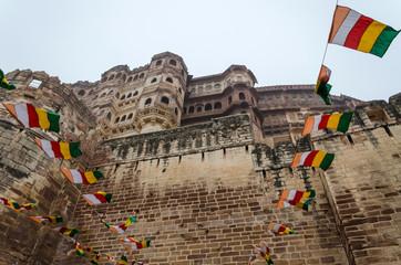 Meherangarh fort landmark in jodhpur