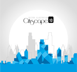 Urban design, vector illustration.