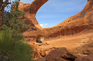 Double O Arch, Arches National Park