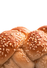 fresh pastry with sesame