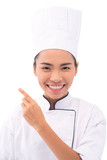 Pretty Vietnamese cook