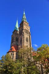 Saint Sebaldus church in Nuremberg