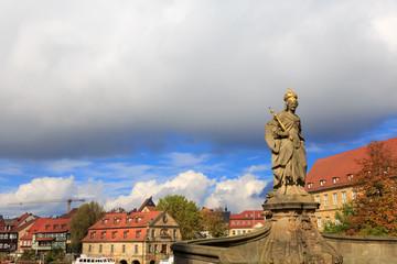 Kaiserin Kunigunde statue in Bamberg
