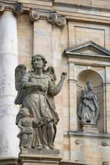 Statues near Kloster Michelsberg (Michaelsberg)