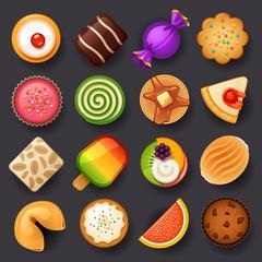 dessert icon set-3