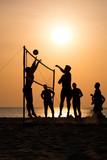 Fototapeta beach Volleyball