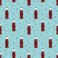 Soda cold drinks pattern