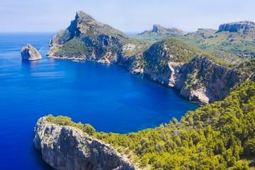 Cape Formentor in Mallorca, Balearic island, Spain