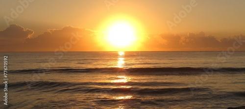 canvas print picture sunset, NSW, Australia