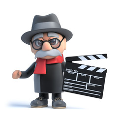 3d Grandpa makes a movie