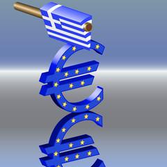 Griechenland Euro spalten