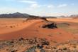 desert in Jordan in the Middle East