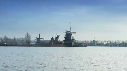 Dutch mills in Holland