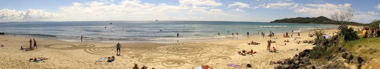 Beach in Byron Bay, NSW, Australia