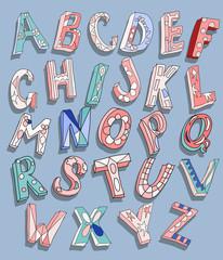 ABC  doodles type