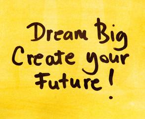 inspirational message  dream big