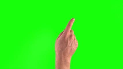 touchscreen gestures in 3840×2160. Set of hand gestures.