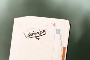 Terminkalender - Erinnerung Valentinstag