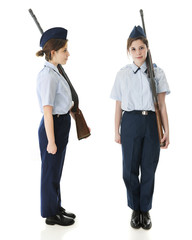 Jr. ROTC Teen - 2 Views