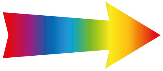 Arrow Rainbow Colored