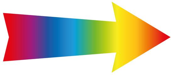 Arrow Rainbow Colored