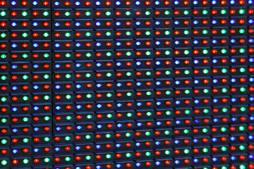 RGB LED display
