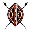 Masaii Shield & Spears