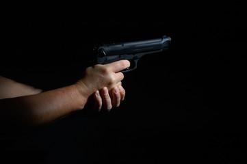 puntare la pistola