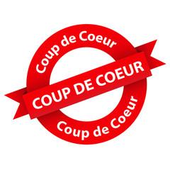 """Tampon Web """"COUP DE COEUR"""" (affaires bons plans sélection malin)"""