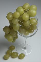 uva nel bicchiere
