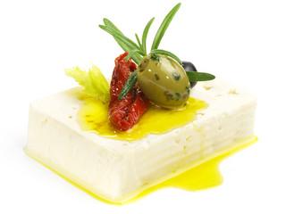 Feta Käse mit Oliven