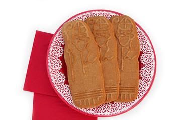 speculoos a forma di San Nicolas_ biscotti di Natale