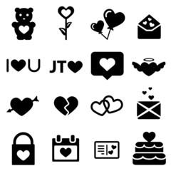 icone noir