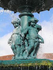 Fuente urbana en Lisboa