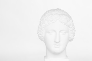Gypsum head of Venus de Milo