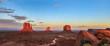Monument Valley at sunset, Arizona - 77687764