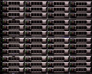 File server storage disks