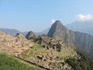 Ruinas del Macchu Picchu. Peru